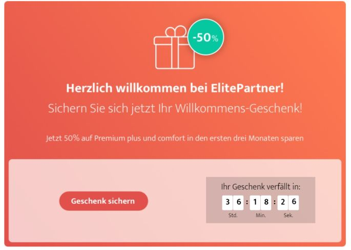 Elitepartner Rabatt