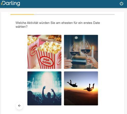 Profilfragen bei eDarling